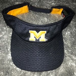 University of Michigan vintage visor